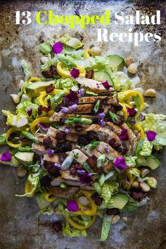 Chopped salads cost a fortune at specialty salad shops, where you can order your own bespoke creation. So why not save some money and make your own? Check out our favorite recipes below.