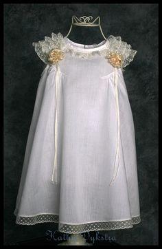 Portrait Dress heirloom sewing