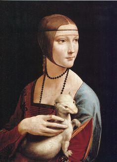 Leonardo da Vinci: La dama con l'ermellino  Cracovia - Dopo anni di esposizione al Museo Czartoryski da Maggio 2012 si trova al Castello del Wavel.