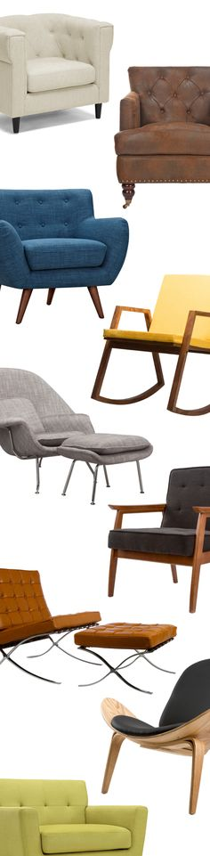 Discover gorgeous modern chairs for every room in your home. Featuring unique styles, from sleek Mid-Century Modern to stripped-down Industrial to celebrated Scandinavian. Fall in love with something new.