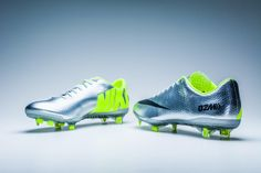 Nike Mercurial Vapor IX FG Soccer Cleats - Metallic Silver with Volt...Available at SoccerPro Now!