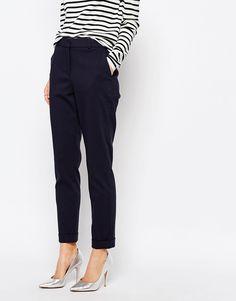 Whistles Sadie Slim Leg Pants - ASOS (but not with those tacky heels)