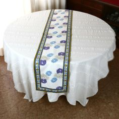 Table runner 72 inch summer home décor spring floral cotton washable ShalinIndia http://www.amazon.ca/dp/B00ECVVIEU/ref=cm_sw_r_pi_dp_0phJtb01K80QVJXS