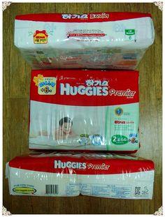 하기스 프리미어 2단계 기저귀(소형, 여아용)(Diapers)
