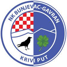 NK Bunjevac Gavran Krivi Put Soccer Logo, Badges, Football, Logos, Sports, Coat Of Arms, Hs Sports, Futbol, Name Badges