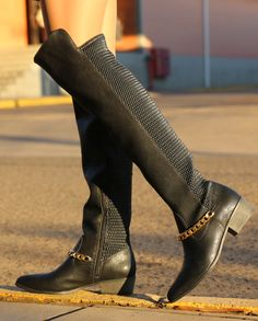 over the knee boots - winter shoes - Inverno 2015 - Ref. 15-5904