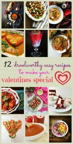 A vegetarian , mostly #vegan valentines day menu for the special day .