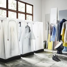 Fabulous Portable wardrobes are always a good call for tiny bedrooms This textile wardrobe is the
