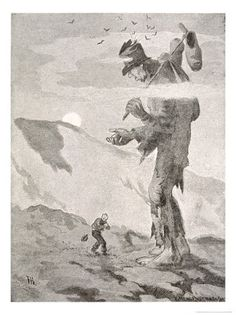Norwegian Giant Poster Print By Mary Evans Picture Library X Troll, David Friedrich, Most Popular Artists, Illustrator, Art Corner, Poster Prints, Art Prints, Landscape Drawings, Eye Art