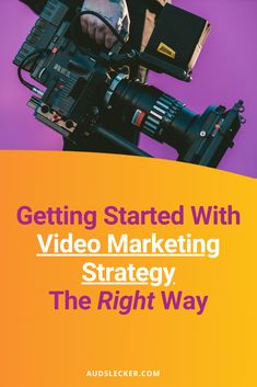 """What IS a video marketing strategy? At its core, it's a plan to grow a community of """"true fans""""... Get Started, Digital Marketing, Core, Fans, Community, How To Plan"""