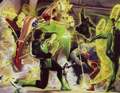 The Line of Justice by Alex Ross | COMIC BOOK FAN AND LOVER: JUSTICE PARTE 9 (DE 12) - DC COMICS