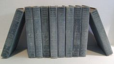 Rare 1909 The Best of the World's Classics Henry Cabot-Lodge 10 Volume Set Books