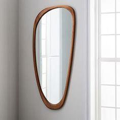 Mid-Century Asymmetrical Floor Mirror
