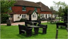 The Parrot Inn at Forest Green -  a wonderful hostelry complete with double sided Yeoman stove by Dorking Stoves