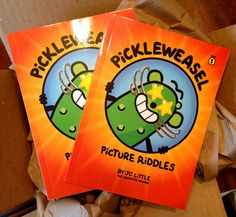 Got my proofs! PickleWeasel Picture Riddles #kidsbooks #author
