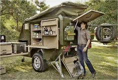 CONQUEROR UEV-440 | OFF ROAD CAMPER TRAILER