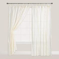 Image Result For Natural Crinkle Voile Cotton Curtains