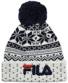 6035644f779 Vans Beanies - Vans Off The Wall Pom Beanie - Racing Red Dress Blues ...