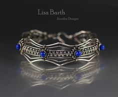 Pinner: Here is one straight from the book, I taught this class yesterday.  Had a blast.  I love wire weaving.  http://www.kalmbachstore.com/67844.html.  Banle bracelet