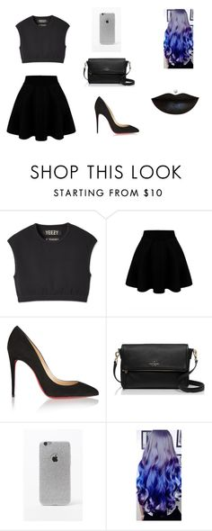 """Untitled #89"" by karenrodriguez-iv on Polyvore featuring Christian Louboutin, Kate Spade, LA: Hearts, women's clothing, women, female, woman, misses and juniors"