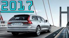 ►2017 Volvo V90 Estate T8 Twin Engine Petrol Plug-in Hybrid First Drive ...