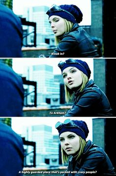 There is something about Selina in this show, she gives it substance and makes you care about her and those she is close to.