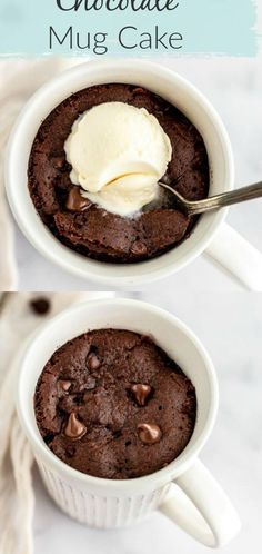 Chocolate mug cake is SO easy! This is the BEST Chocolate Mug Cake - it's incredibly easy to make with just a few simple ingredients (no eggs!) and is made right in the microwave. You can top this with peanut butter Nutella ice cream or even fruit. This mug cake makes a perfect easy chocolate dessert! #recipes #cake #easy #easyrecipe #dessert #chocolate ...weet delights are sure to give you a wonderful conclusion to a heavy mealRaspberry Cornstarch PuddingIngredients4 tablespoons cornstarch… Chocolate Dipped Fruit, Easy Chocolate Desserts, Cold Desserts, Chocolate Mug Cakes, Desserts To Make, Best Chocolate, Vegan Desserts, Delicious Desserts, Nutella Mug Cake
