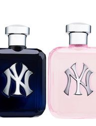 NY Yankees Perfume.  The men's actually smells good, haven't smelled the lady version yet.