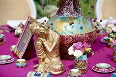 July 2015: Indian Vibe Wedding Theme | Satori Art & Event Design | Cluj Napoca, Romania Indiana, Indian Wedding Theme, Event Themes, Romania, Event Design, Wedding Designs, Wedding Events, Hand Painted, Vase