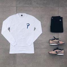 WEBSTA @ frenchoutfit - Outfit by : @clementtirel• LS #Patta• Pant #Zara• Kicks…