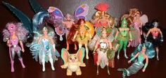 Shera dolls (I had almost all of these and the castle!)
