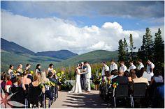Ten Mile station wedding deck