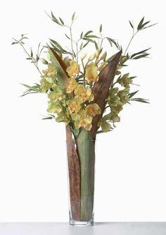 Composition Hawaï, Sia  - Fleurs artificielles, idées de compositions florales et design floral