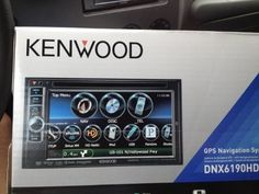 "Brand New Kenwood DNX6190HD 6.1"" WVGA Double-DIN Navigation/DVD Receiver, Built-in Bluetooth, Built-in HD Radio, Rear USB, iPhone/iPod Controls, Android Ready by Kenwood, http://www.amazon.com/dp/B007SK87BY/ref=cm_sw_r_pi_dp_WM6Vqb1TEFVYT"