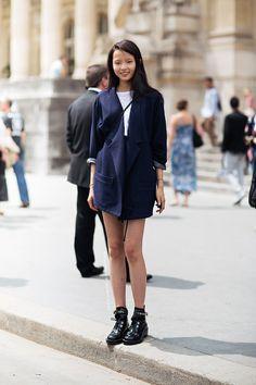 trail blazer. #XiaoWenJu #offduty in Paris.