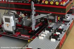 A LEGO robot built to build LEGO cars! See how quick it can get with the bricks in this math story! Lego Math, Fun Math, Math Activities, Daily Math, Lego Robot, Math Problems, Elementary Math, Kids Education, Bricks