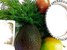 creamy avocado-dill-coconut milk dressing