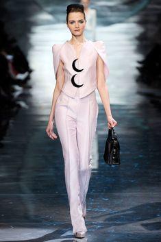 Armani Privé Spring 2010 Couture Fashion Show - Angelika Kocheva