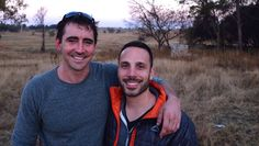 Lee pace and Joe Miale :) smiles <3