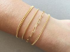 Gold Filled Bracelet, Thick Gold Filled Box Chain Rolo Cable Chain Flat Curb or Rectangle Box Chain, Bold Jewelry for Women and Men Bold Jewelry, Gold Filled Jewelry, Dainty Jewelry, Gold Filled Chain, Cute Jewelry, Pearl Jewelry, Jewelry Gifts, Women Jewelry, Dainty Necklace