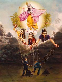 By Ananda Vrndavanesvari Devi Dasi From the moment we are born we are…