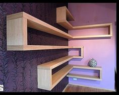 wood corner shelf ideas 5