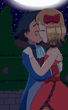Amourshipping: Kiss Under the Stars by SerenaShowcase Ash Pokemon, Umbreon Pokemon, Pokemon Waifu, Pokemon Ash And Serena, Pokemon Ships, Pokemon Comics, Pokemon Games, Pokemon Fan, Pokemon Couples