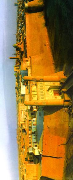 Panaromic view  fortress wal of the Bukhara (Erdinç Bakla archive)