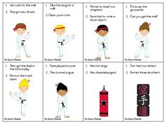 Free Conjunction Karate Expansion Deck- combining sentences using conjunctions