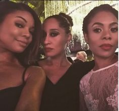 Gabrielle Union, Tracee Ellis Ross, and Regina Hall