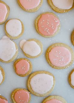 Citrus Shortbread Cookies by Wood and Spoon Blog. These are buttery cookies with zesty lemon, lime, or orange, and topped with a champagne glaze. You can use fruit juice to make the glaze instead if you prefer. These make excellent new year\'s eve party cookies or simple snacks to share with friends. Find the recipe on thewoodandspoon.com by Kate Wood
