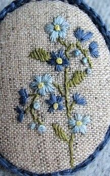 Embroidery Works, Crewel Embroidery, Beaded Embroidery, Embroidery Patterns, Purse Patterns, Needle And Thread, Needlepoint, Knitted Hats, Needlework