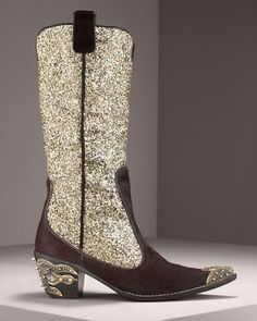 Sparkly cowboy boots:) for $1000