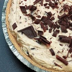 Chocolate Peanut Butter Banana Pie
